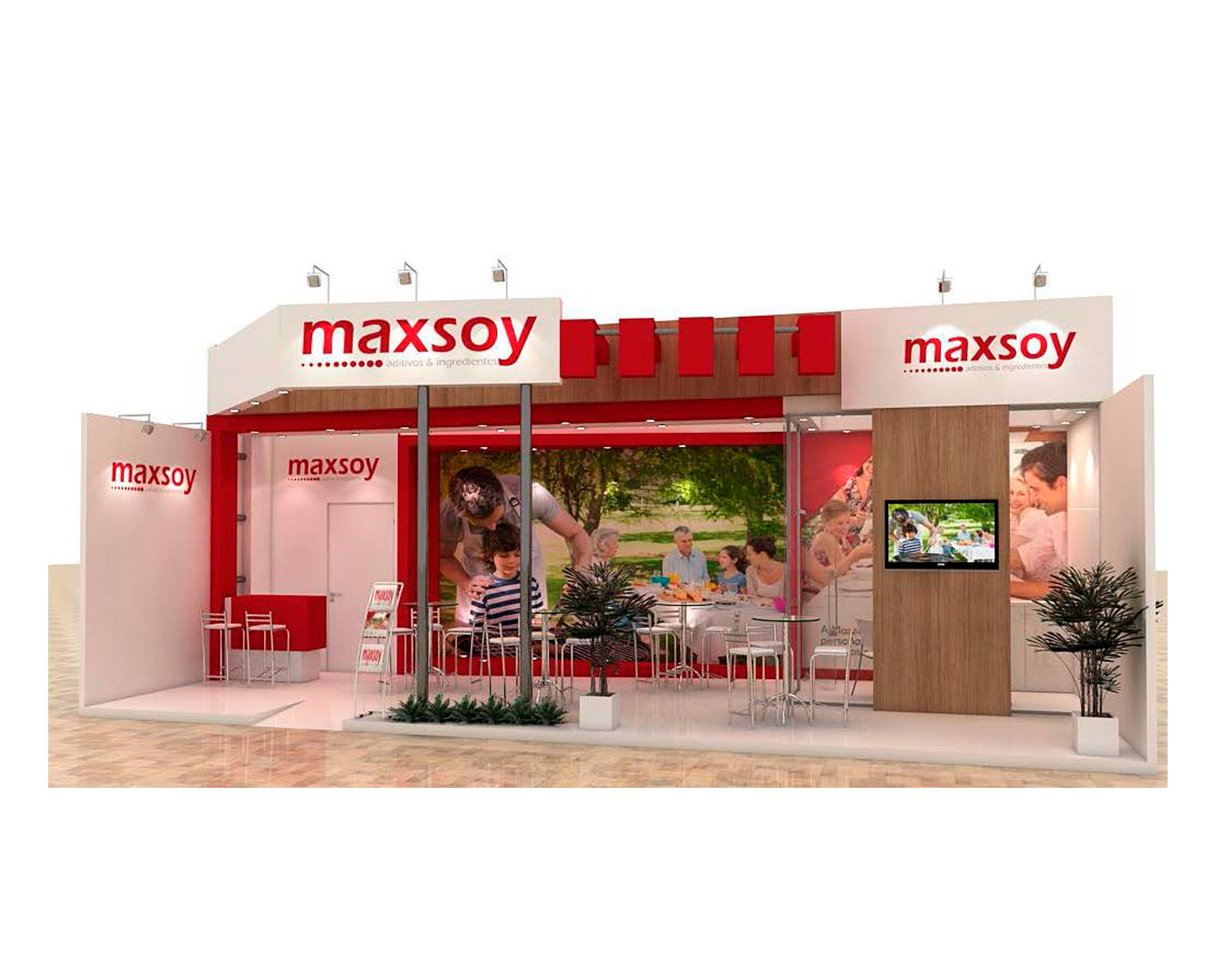 STAND MAXSOY
